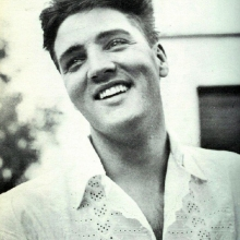 Elvis young and beautiful