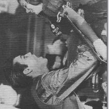 Mary Kosloski with Elvis 3
