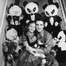 Mary Kosloski with Elvis