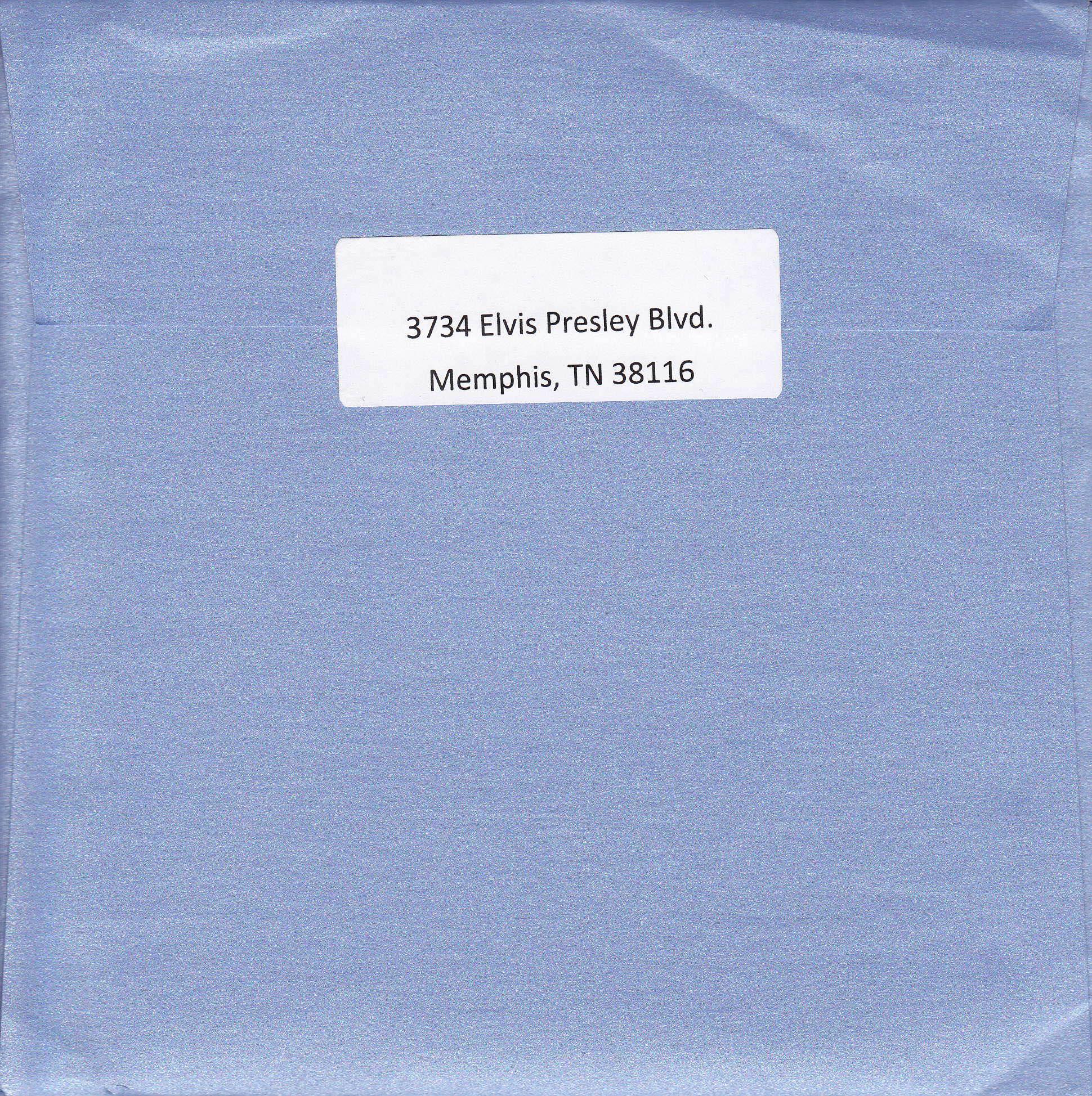 Busta contenente gli Auguri – Lato B.