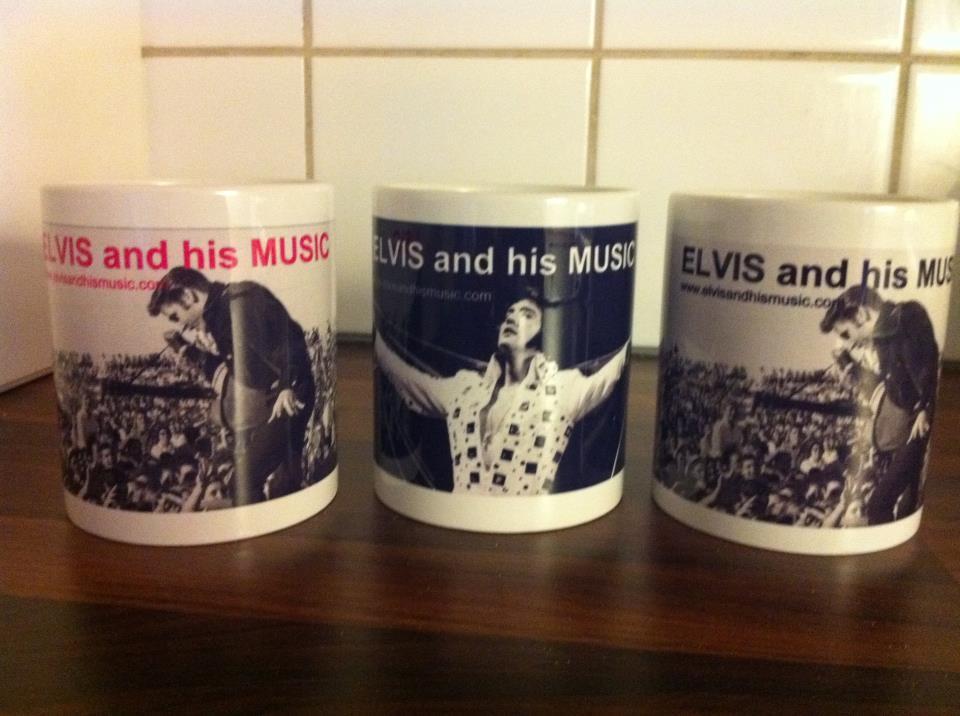 Elvis Mug | The Wonder of ELVIS by Marilena
