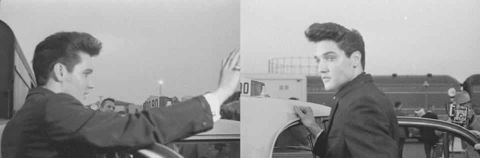 Elvis April 1960