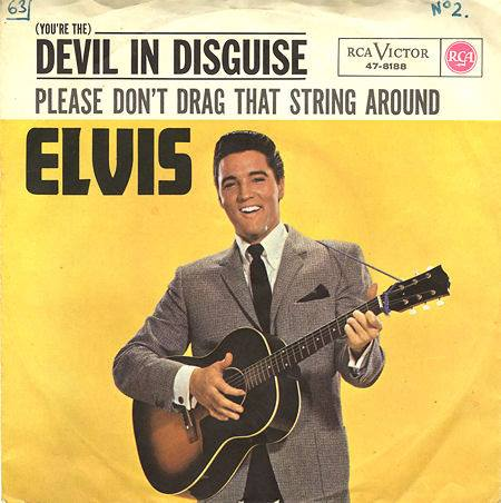 1963, Elvis Presley was at No.1 on the UK singles chart with '(You're The) Devil In Disguise'
