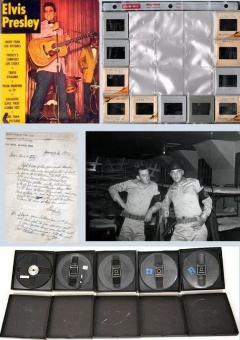 New auction includes 4.5 hours ELVIS IN CONCERT