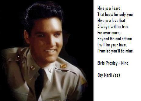 Elvis Presley-Mine