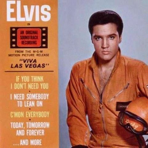 Elvis Presley 1963 Viva Las Vegas