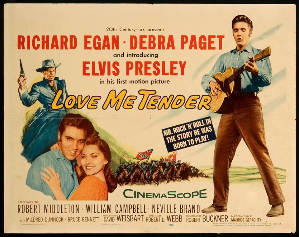 1956, Love Me Tender