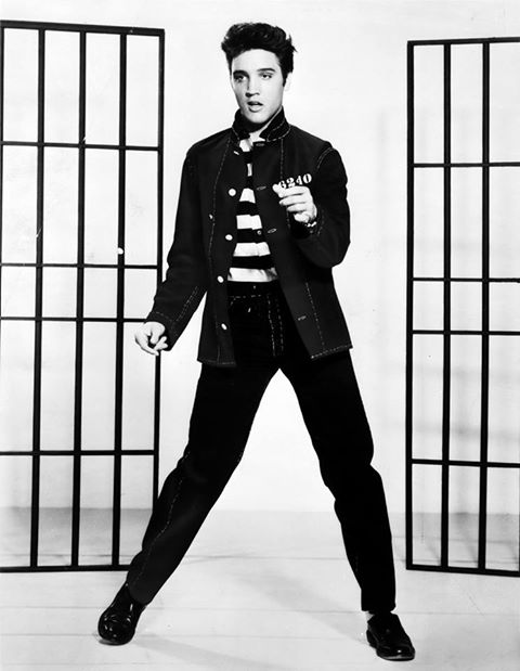 1957 Elvis Presley's Jailhous Rock goes to No.1