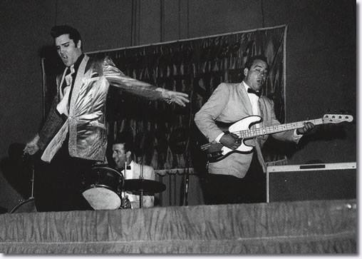1957, Elvis at the Pan Pacific Auditorium in Los Angeles