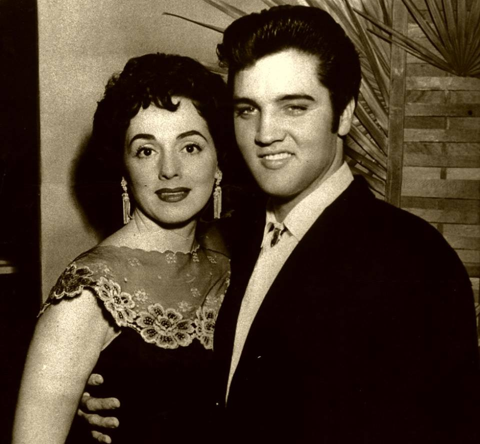 1st October 1957, Elvis with MARGUERITE PIAZZA,