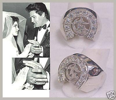 Elvis and Priscilla had rings designed to express their love of the Circle G Ranch