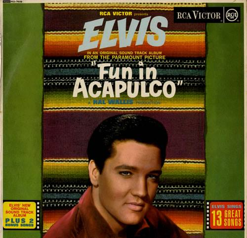 1963, Paramount releases ELVIS PRESLEY's thirteenth film Fun in Acapulco