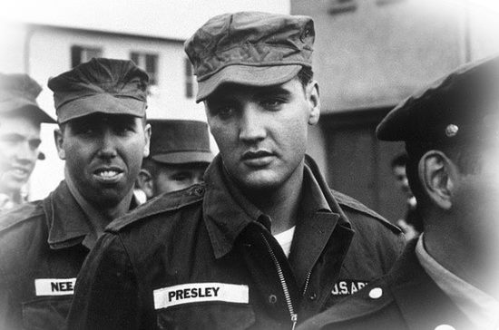 Elvis In Army Rare
