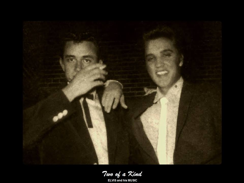 Elvis and Johnny Cash Two Of A Kind!