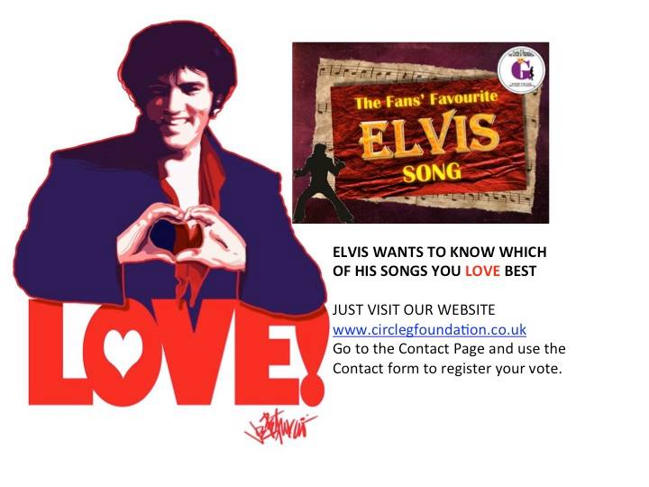 Elvis wants to know which of his songs you love best