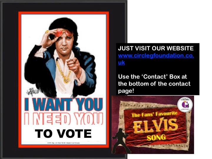 I want You I need You to vote