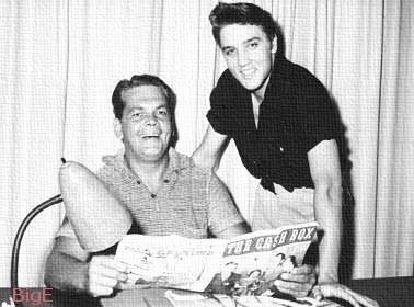 Dec. 27, 1954, Elvis signs new personal management contract with Bob Neal