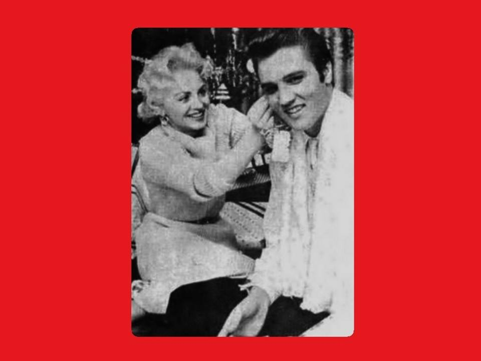 December 25 1956, Elvis and Dottie Harmony