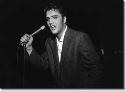 1955, Elvis Presley appeared in concert in Boonesville, Virginia.