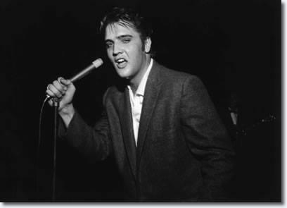 1955, Elvis Presley appeared in concert in Boonesville, Virginia.