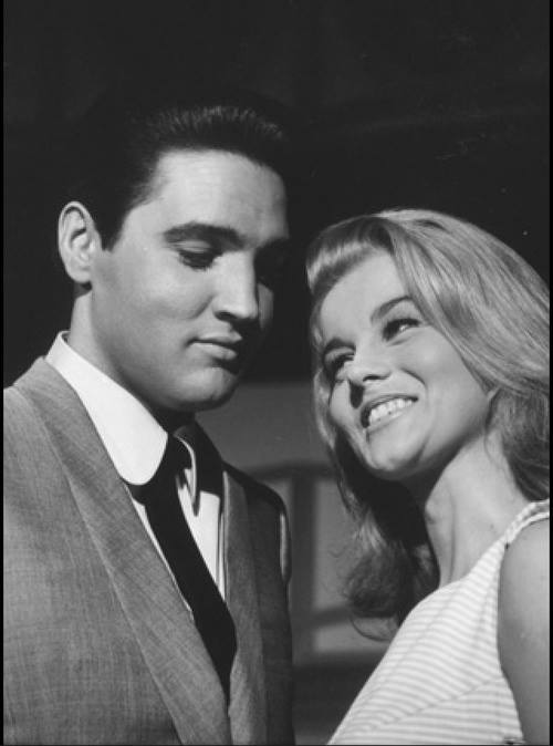 Elvis and Ann Margret