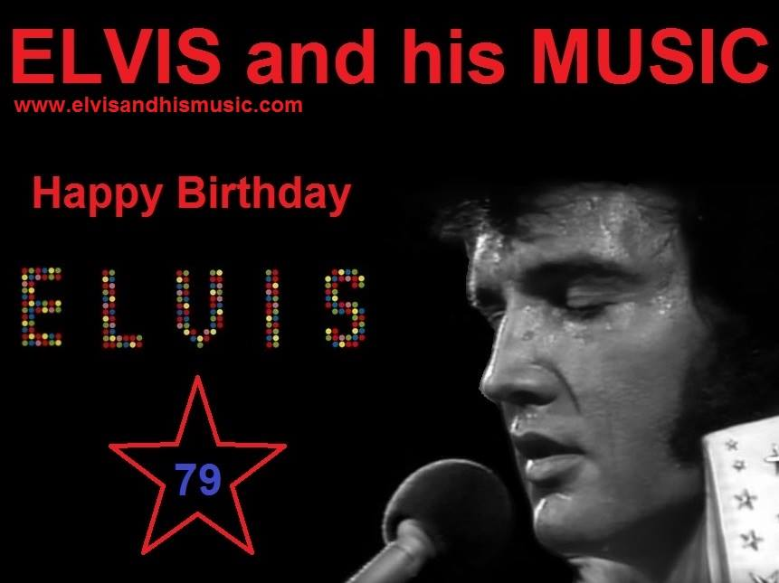January 8th. Happy Birthday Elvis