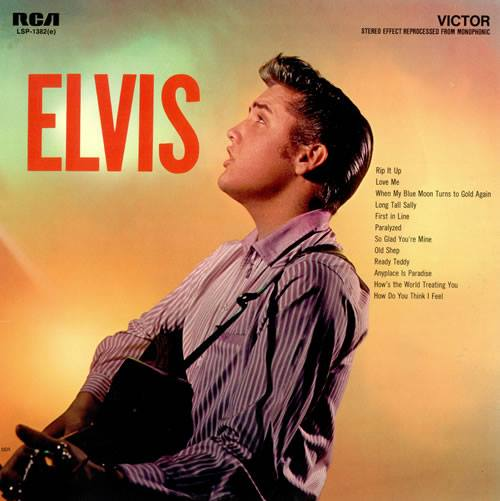 1960, ELVIS PRESLEY's album 'Elvis' was certified Gold