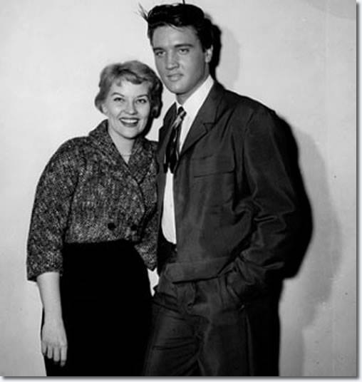 Elvis and Pattie Page