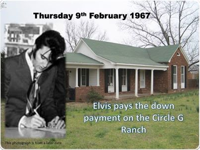 Elvis pays the down payment on the Circle G Ranch