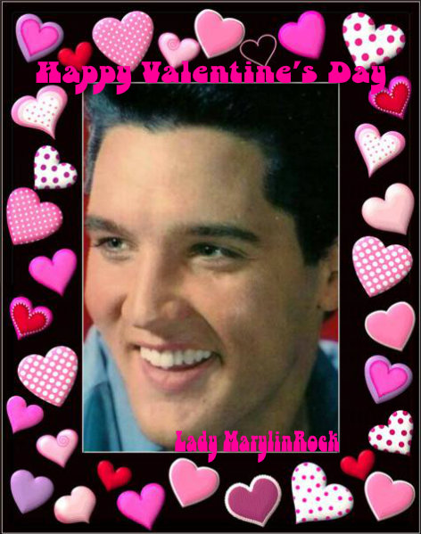Happy Valentine's Day to Elvis Fans