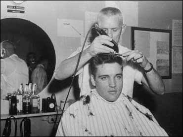 1958, Elvis Presley's March 25, 1958 G.I. haircut