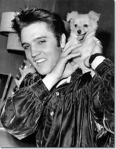 Elvis Presley and 'Sweet Pea' October 18, 1956
