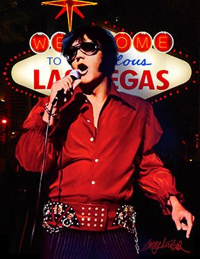 Elvis Welcome to Fabulous Las Vegas