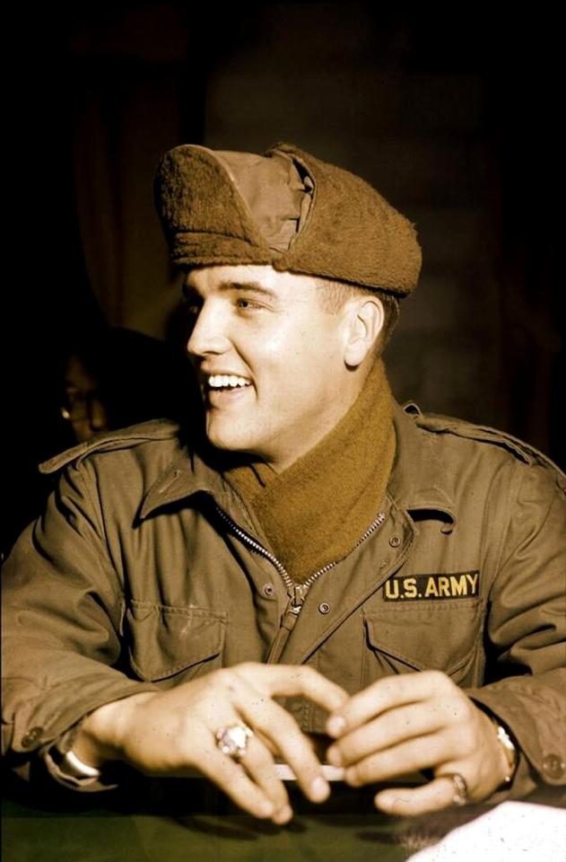 Elvis in Army
