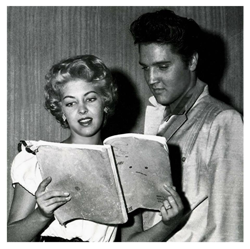 Elvis with Miss Texas 1957