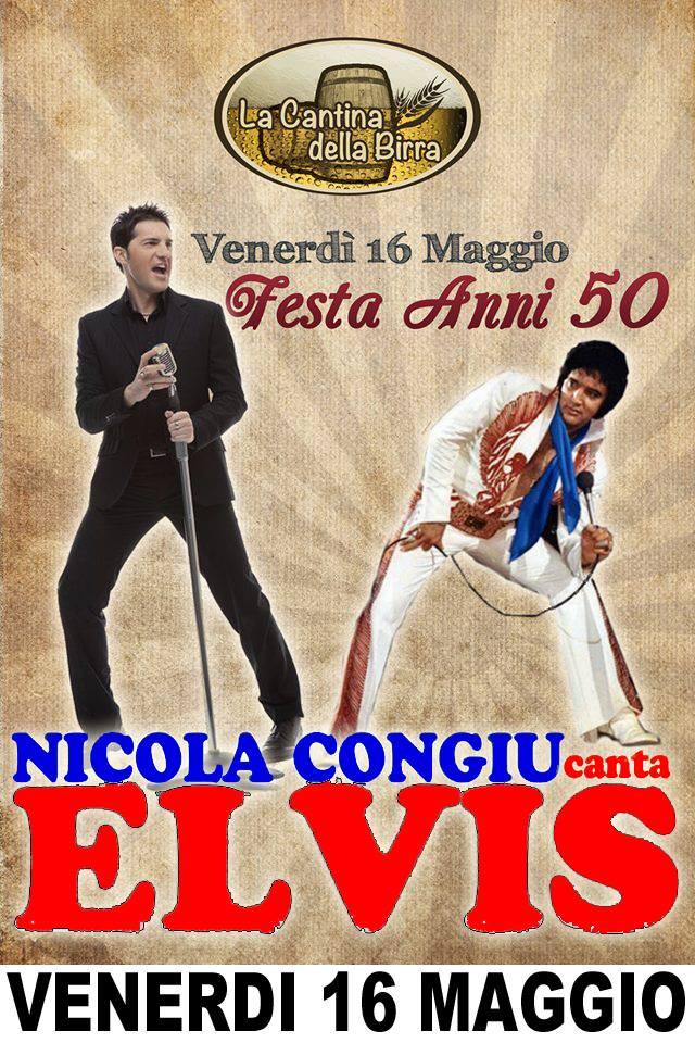 Nicola Congiu canta ELVIS 3